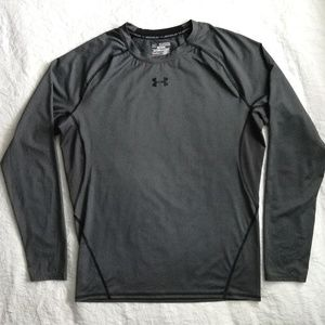 Under Armour grey long sleeve compression shirt